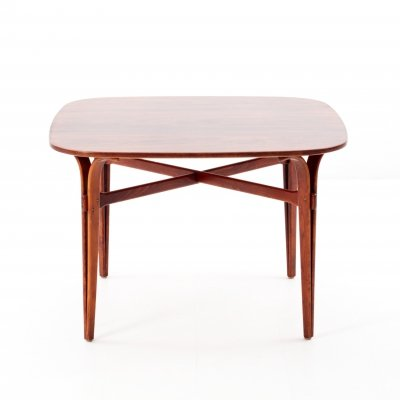 Rosewood & beech dining table, 1960s