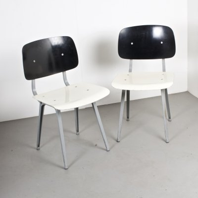 TU Delft Revolt Chairs by Friso Kramer for Ahrend De Cirkel, NL 1950s