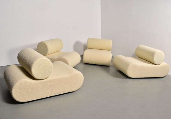 Corbi seating group by Klaus Uredat for COR, 1970s