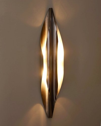 Narval wall lamp by Maison Charles, 1970