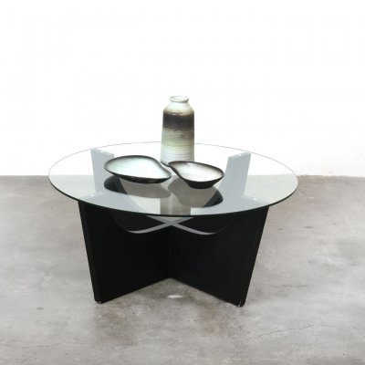 Round coffee table, 1970s