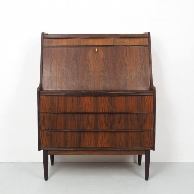 Danish design rosewood secretary, 1960's