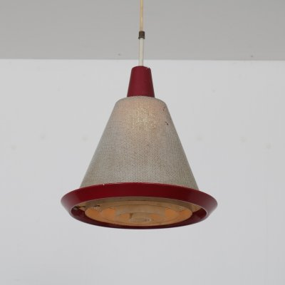 Perfolux hanging lamp by Hiemstra Evolux, 1950s