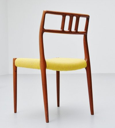 Niels Otto Møller model 79 teak dining chair, Denmark 1966