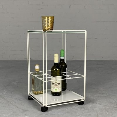 Isocele bar trolley by Max Sauze for Atrow, France 1970s