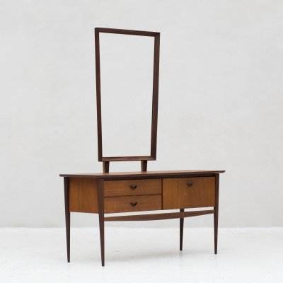 Dressing table by Louis van Teeffelen for Wébé, Dutch design 1950's