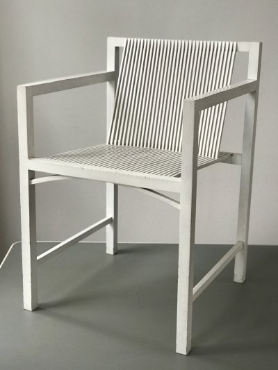 Slat chair by Ruud Jan Kokke, 1980s