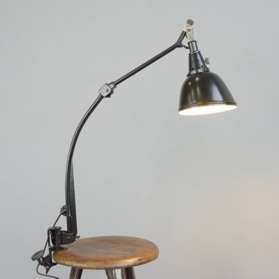 Midgard Typ 114 Table Lamp by Curt Fischer, Circa 1930s