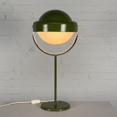 Quirky green table lamp by Uno Dahlén for Aneta, Sweden 1960s