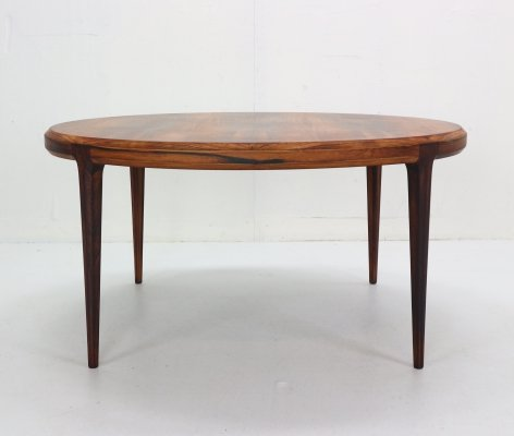 Johannes Andersen Round Coffee Table for CFC Silkeborg, Denmark 1960s