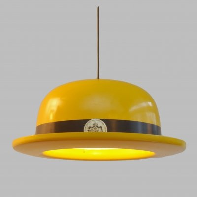 Bowler Hat hanging lamp by Hans Agne Jakobsson for Hans Agne Jakobsson AB Markaryd, 1970s