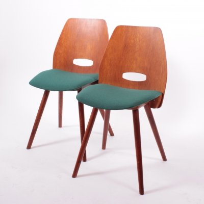 Set of 2 Dining Chairs by František Jirák, 1960s