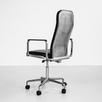 Midcentury English desk chair by Frederick Scott for Hille, 1970s