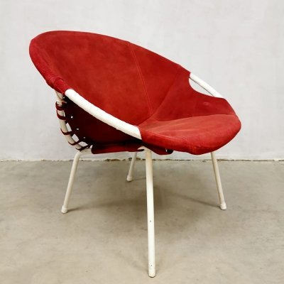 Vintage balloon chair by Lusch & Co, 1960s