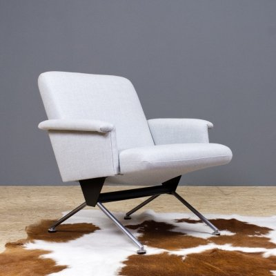 Cordemeyer for Gispen 1432 executive chair in grey, 1961