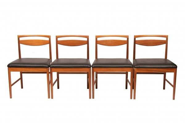 Midcentury Teak Dining Chairs by McIntosh, c.1960