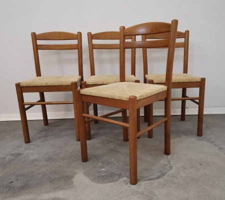 Set of 4 Dining chair, 1980s