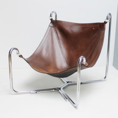 First edition Baffo lounge chair by Didone & Pareschi for Busnelli, Italy