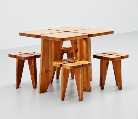 Rauni Peippo Apila breakfast table set, Finland 1960