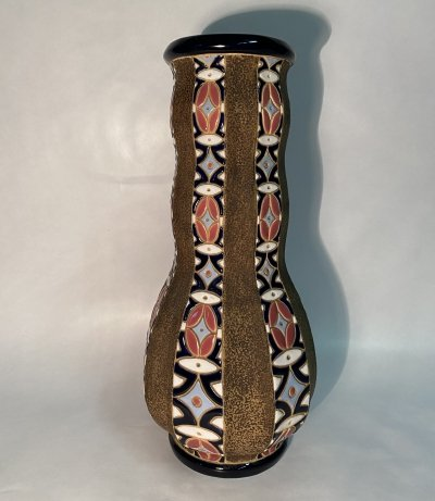 Large secession vase by Amphora Trnovany