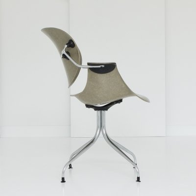 DAA Swag Leg office chair by George Nelson for Herman Miller, 1950s