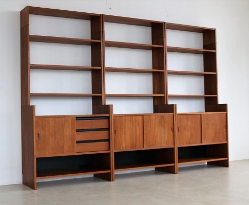3 x cabinet by Poul Cadovius for KLM, 1960s