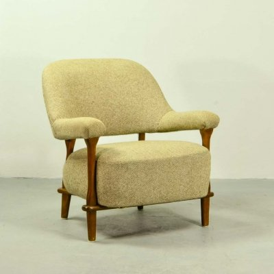 Rare Theo Ruth Armchair by Artifort, The Netherlands 1957