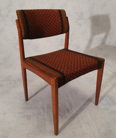 2 x Danish Teak Dining Chair by H. W. Klein for Bramin, 1960s