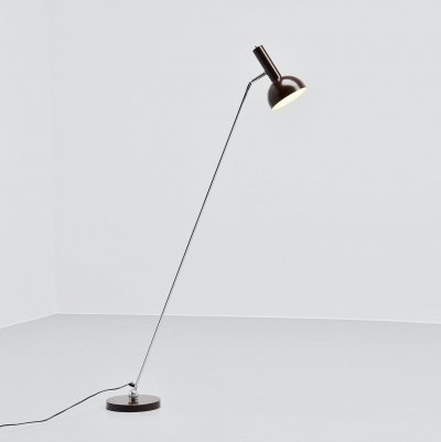 Hala Adjustable floor lamp by H. Th. A. Busquet, Holland 1960