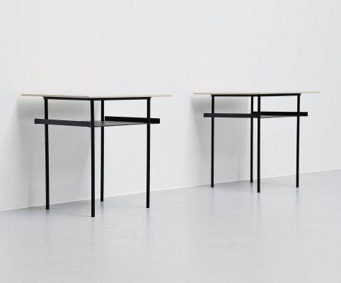 Wim Rietveld side tables for Auping, Holland 1950