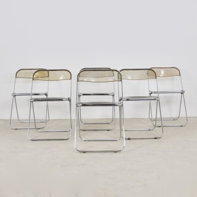 Plona Chair by Giancarlo Piretti for Castelli, 1970s