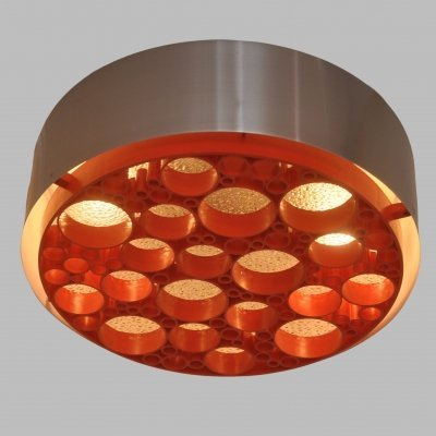 3 x Alliance ceiling lamp by Raak Amsterdam, 1970s