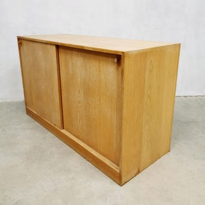 Danish design light oak cabinet by Kurt Ostervig for KP Mobler