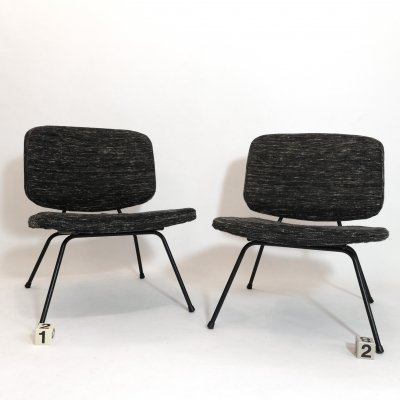 Pierre Paulin CM 190 lounge chair by Thonet, 1960s