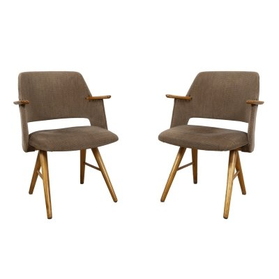 FE30 Dining chair set by Cees Braakman, 1950s