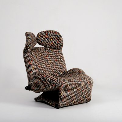 Toshiyuki Kita Wink lounge chair, 1980s
