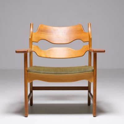 Set of 4 armchairs by Henning Kjaernulf, 1960s