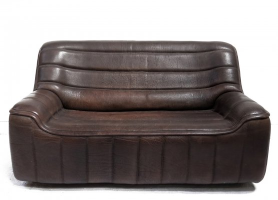 Vintage Design De Sede DS 84 Leather Sofa, Switzerland 1970s