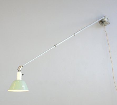 Telescopic Task Lamp by Johan Petter Johansson for Triplex, 1930s