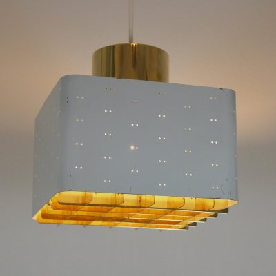 Paavo Tynell 'Starry Sky' Ceiling Lamp for Idman, Finland 1950s