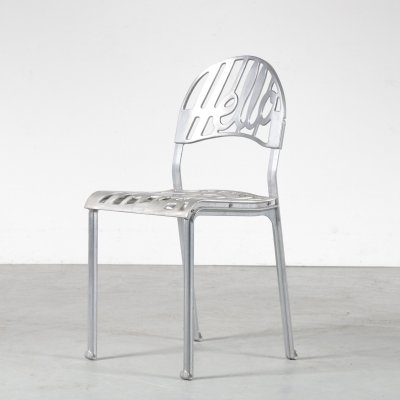 2 x Hello There dining chair by Jeremy Harvey for Artifort, 1960s
