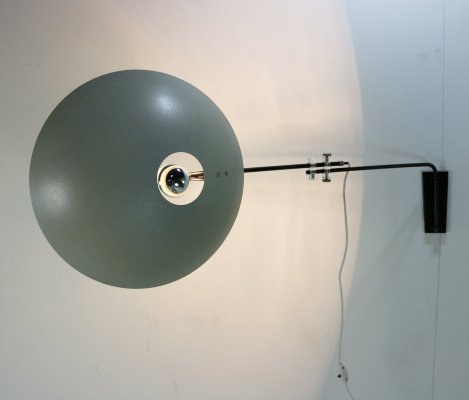 NX23 wall lamp by Louis Kalff for Philips, 1950s