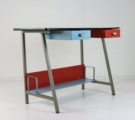 Writing desk by Coen de Vries for Pilastro, 1950s