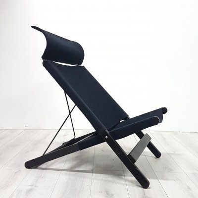 Hestra folding lounge chair by Tord Bjorklund for IKEA, Sweden 1990s
