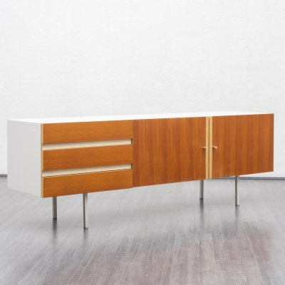 1970s Interlübke sideboard with wooden fronts