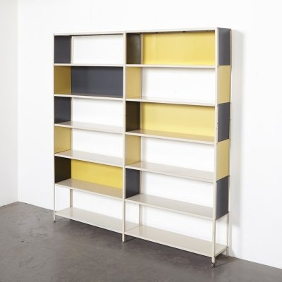 Friso Kramer Double Bookcase for Asmeta, 1953