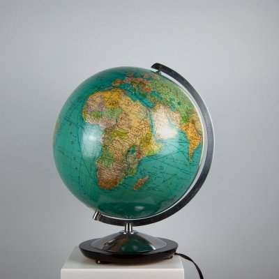 Vintage Glass Globe by Paul Oestergaard for Columbus
