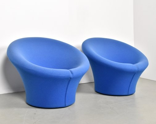 2 x Mushroom lounge chair by Pierre Paulin for Artifort, 1970s