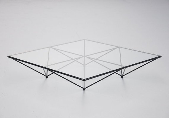 Paolo Piva Alanda low coffee table by B&B Italia, 1982