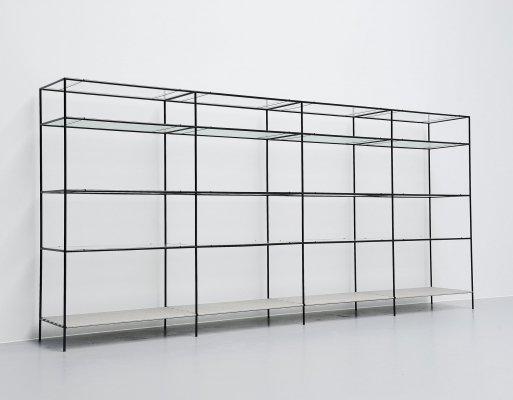 Abstracta shelving system by Poul Cadovius, Denmark 1960